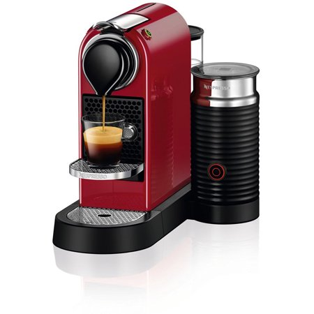 Nespresso CitiZ & Milk Espresso Maker (Cherry Red) - Walmart.com
