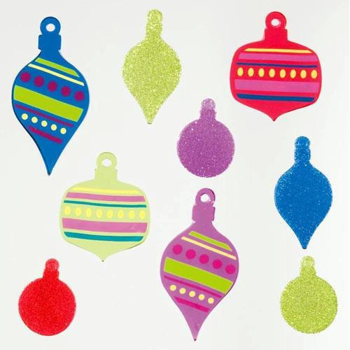 GelGems Funky Ornaments, Christmas Decor by Design Ideas