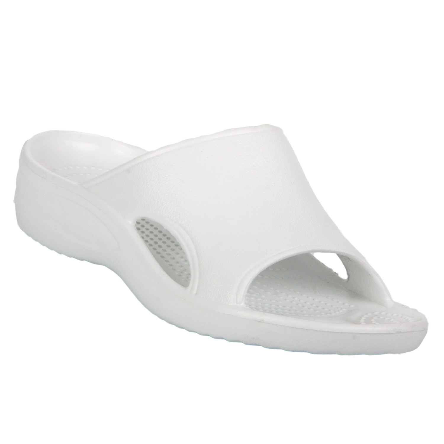 f3180aef5ba9 Women s Dawgs Slides White Size 10