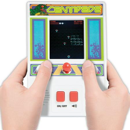 Atari Centipede Mini Arcade Game Classic Retro Hand Held Electronic Toy Classic Atari Arcade Games