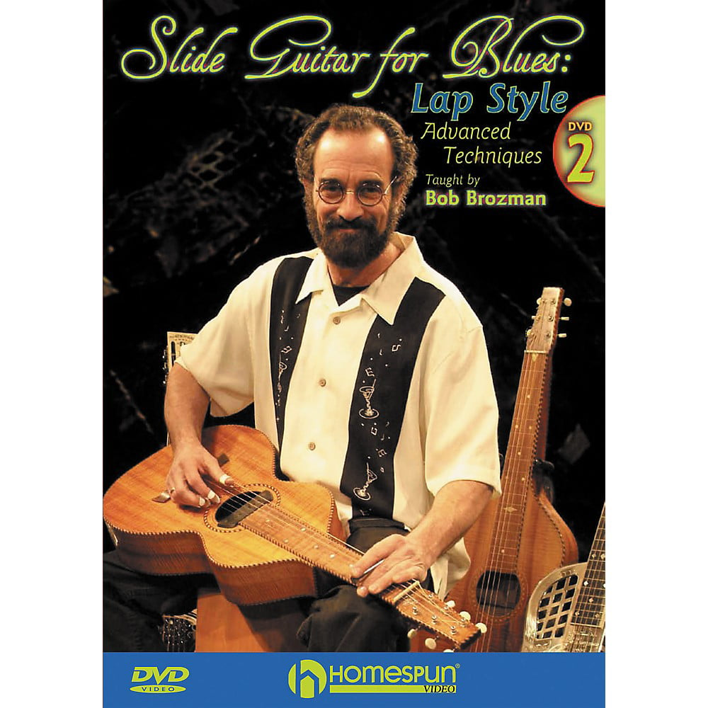 Homespun Slide Guitar for Blues Lap Steel DVD 2 with Tab by