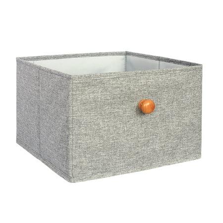Fabric Storage Box Closet Organizer Drawer Storage Cube Bins Basket Drawer Container - image 6 de 6
