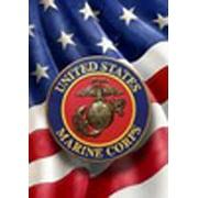 US Marine Corps Garden Flag Double Sided Patriotic USMC Eagle Globe & Anchor