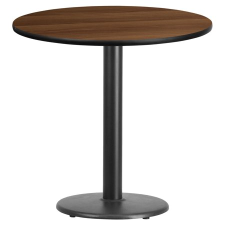 Flash Furniture 30 Round Laminate Table Top With 18 Round Table