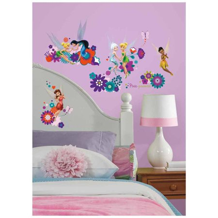 Disney Fairies Best Fairy Friends Peel and Stick Wall (Best Friends Wall)