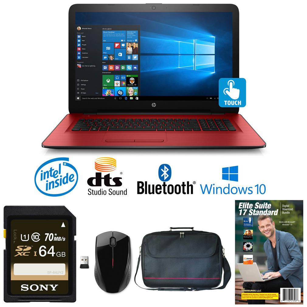 """HP 17-x100 Core Intel i3-7100, 8GB, 2TB HD, 17.3"""" WLED To..."""