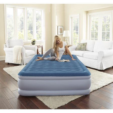 Beautyrest Silver Extraordinaire Raised Air Mattress with iFlex Support & Hybrid Pump, Multiple Sizes, 1 Each