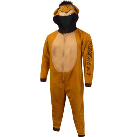 Lion King Scar the Villain Onesie Pajama (Lion Onesie For Men)
