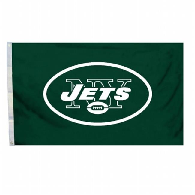 Fremont Die 94939B 3 Ft.  X 5 Ft.  Flag with Grommetts - New York Jets