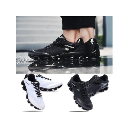Jogging Shoes Review - Men Running Shoes Outdoor Breathable Jogging Sport Blade Krasovki Walk Sneakers