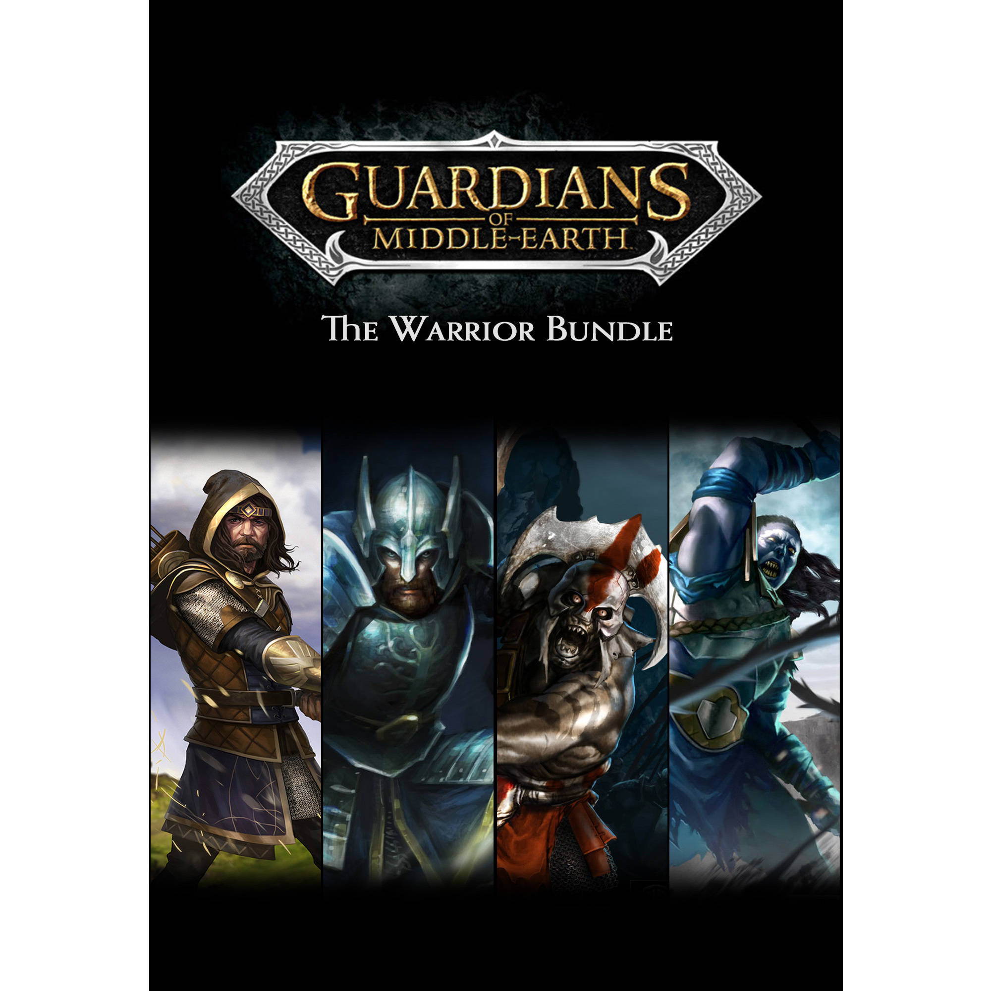 Guardians of Middle-Earth: The Warrior Bundle (PC) (Digital Download)