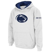 Penn State Nittany Lions Stadium Athletic Youth Big Logo Pullover Hoodie - White