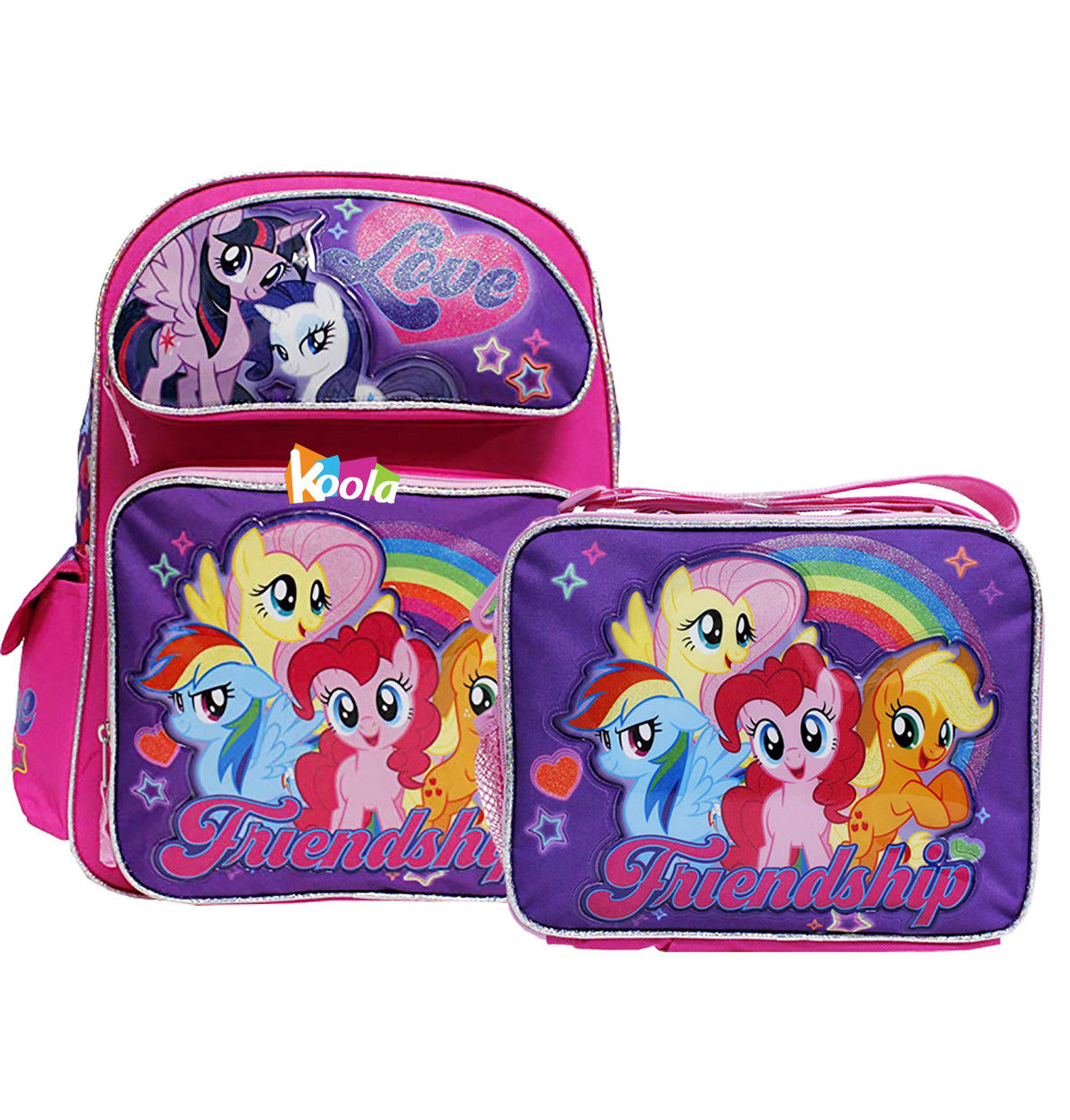 My Little Pony wallet Magic of Friendship Boys Girls Wallet Cartoon Coin Purse