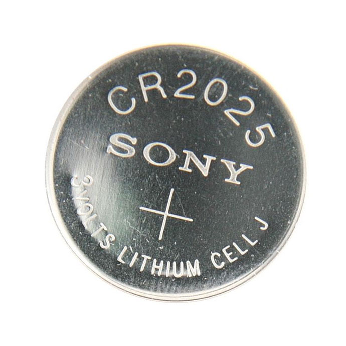 Sony Coin Cell Battery CR2025 3V Lithium Replaces DL2025, BR2025  FAST USA SHIP