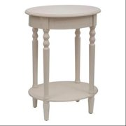 Simplify Oval Accent Table Black