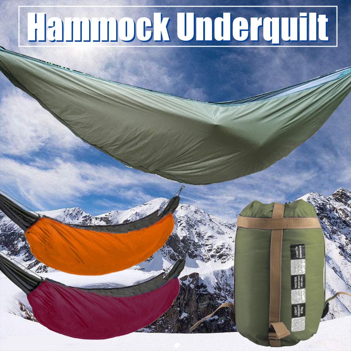 Hammock Underquilt Sleeping Winter Warm Under Quilt ...