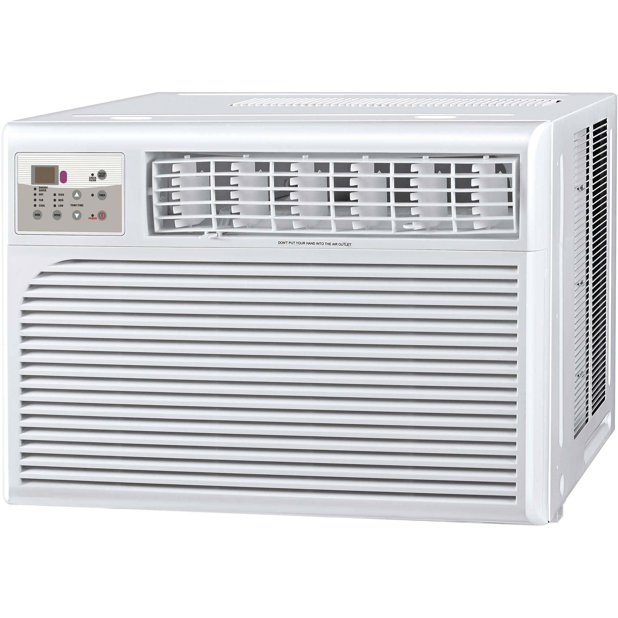 cool living clclyw35c1a 12000btu room air conditioner with digital display and remote white walmartcom