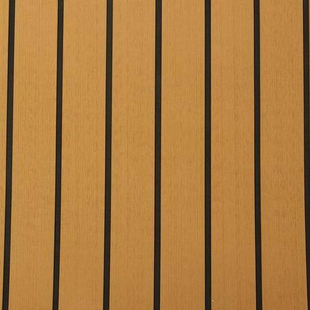 91''x35'' Marine Flooring Synthetic Teak EVA Foam Boat Decking Sheet Self-Adhesive Mat 6mm Thicknes, Gold with Black Line - image 3 of 8