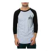 Ambig Mens The No Choice Baseball Graphic T-Shirt