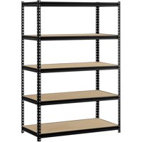 Muscle Rack 48-in W x 24-in D x 72-in H 5-Shelf Steel Shelving