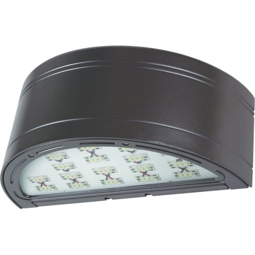 American Lighting WP-SC-47-DB LED Wall Pack Sloped Cylinder Shape, 40 Watts, 2400 Lumens