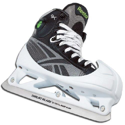 New Reebok 9K Pump Senior SK9KPG Ice Hockey Skates Goalie Size 10.5 D by Reebok