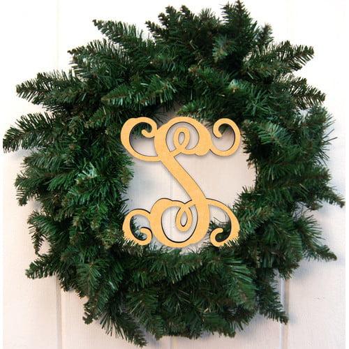 aMonogram Art Unlimited 24'' Holiday Wreath