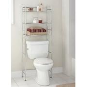 shelves for bathroom. Mainstays 3 Shelf Bathroom Space Saver  Chrome Finish Shelves Walmart com