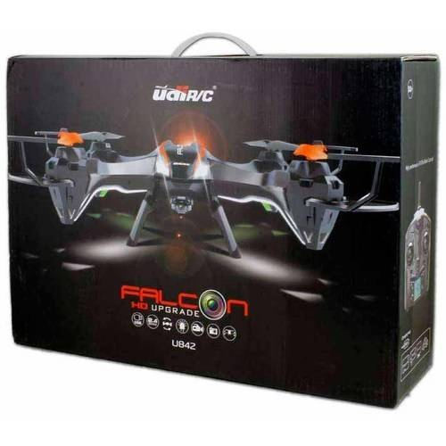 UDI U842 2.4G 4-Channel 6-Axis RC Falcon Quadcopter with HD Camera