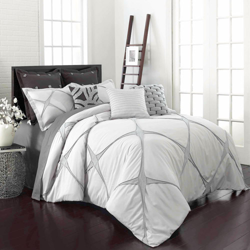 Vue Cersei Bedding Comforter Set, Cream