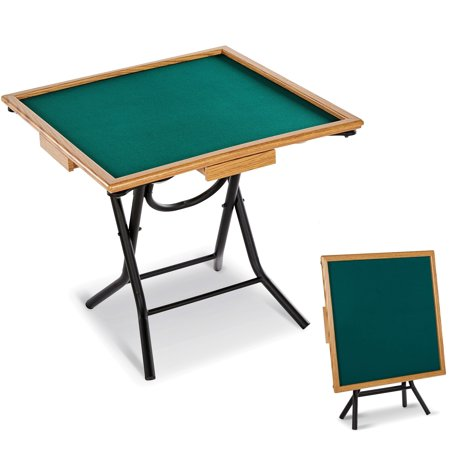 MD Sports Foldable Gaming Table, Board Game, Poker Game and Mahjong Only $50