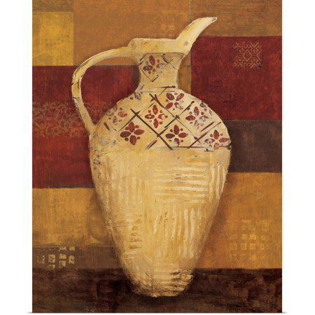 Great BIG Canvas | Rolled Avery Tillmon Poster Print entitled Autumn Urn II