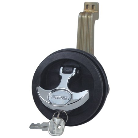 Perko 1091DP4BLK Surface Mount Lock & Latch - 1/2