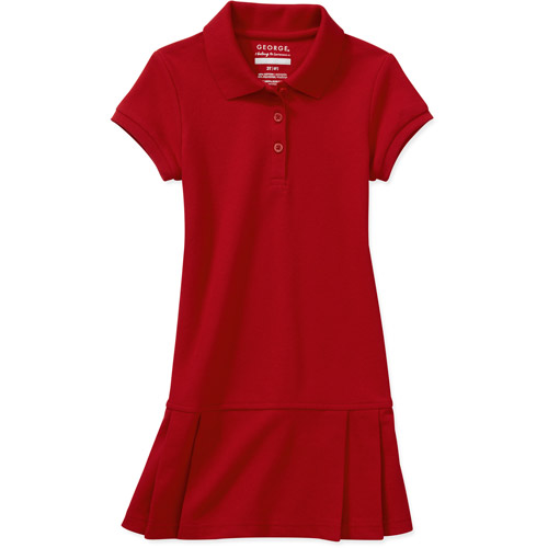 George Toddler Girl Uniform Polo Dress