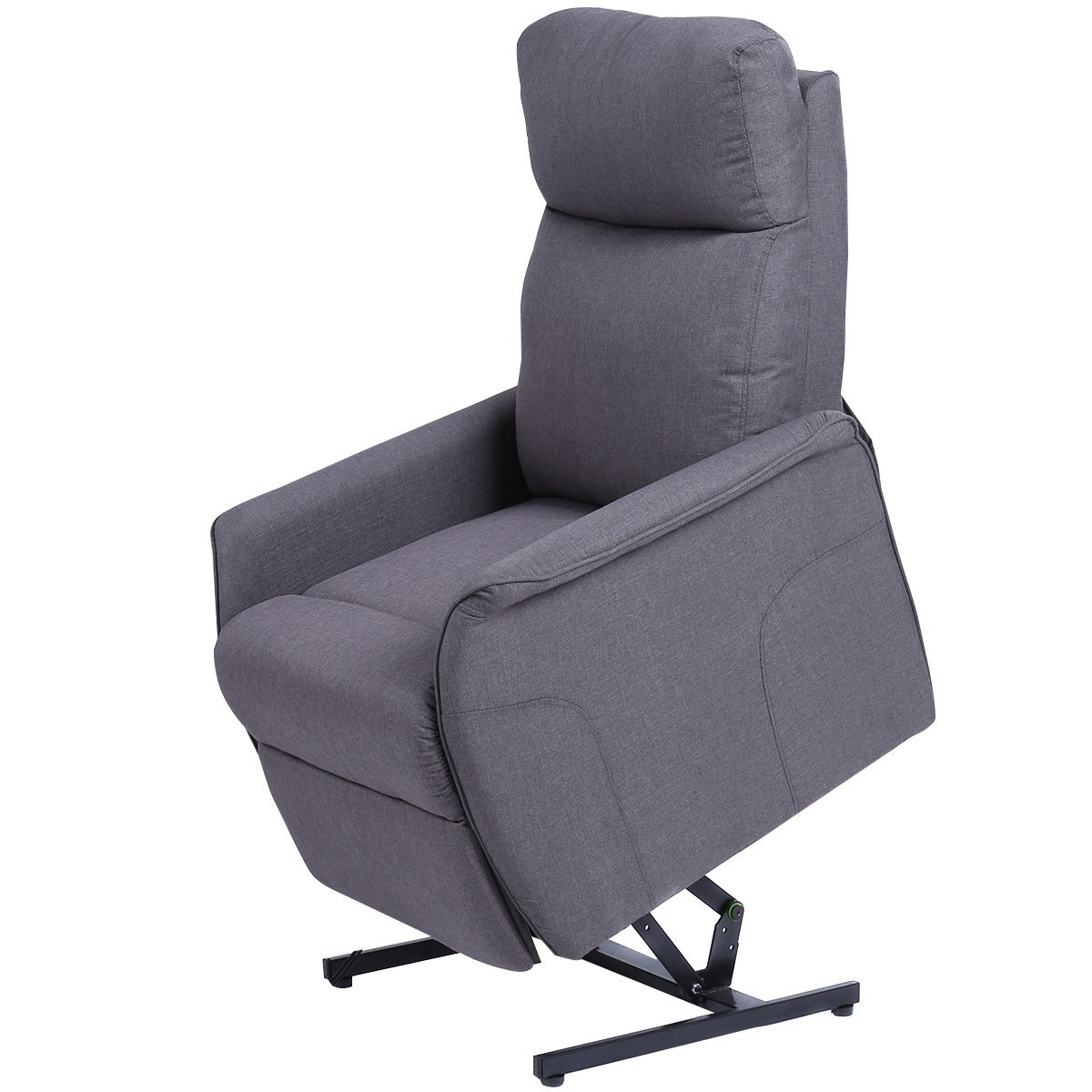 New MTN-G Electric Power Lift Chair Recliner Sofa Chair With Fabric Padded Seat  sc 1 st  Walmart & Recliner Chair Lift islam-shia.org