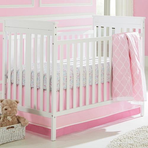 Crown Crafts Sadie & Scout Chelsea 3 Piece Crib Bedding Set