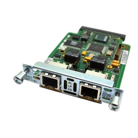 800-22629-05 C0 Cisco VWIC2-2MFT-T1/E1 2-PORT Interface Module Router Trank Card Network Switches & Management
