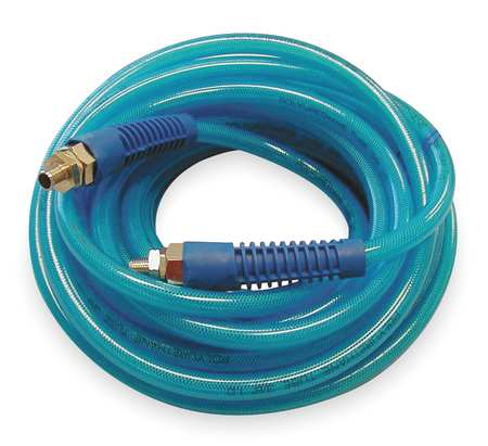 ATP PBH14-100CB2 Poly Hose, Braided, 1/4 In Hose ID, 100 Ft