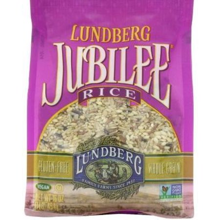 Brown Rice Blend (6 Pack : Lundberg Jubilee, Gourmet Blend Of Whole Grain Brown Rice, 16-ounce Units)