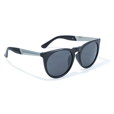 2-Tone Frame and Solid Construction Sunglasses by (Construction Sunglasses)