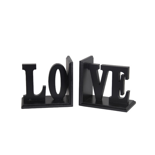 Darby Home Co Love Wooden Bookend by