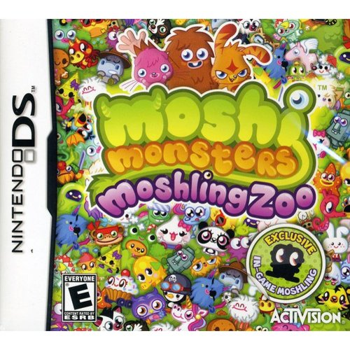 Nintendo DS - Moshi Monsters Moshling Zoo