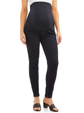 Maternity Time and Tru Skinny Jean with Full Panel (Available in Multiple Colors)