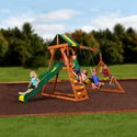 Backyard Discovery Madison Cedar Wooden Swing Set
