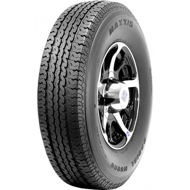 1 New Maxxis ST Radial M8008 ST225/75R15 E/10 Tires
