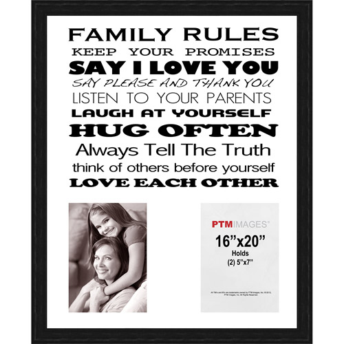 Family Rules I Picture Frame