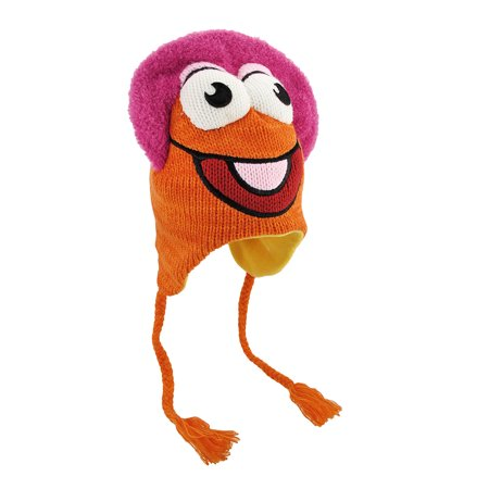 Fraggle Rock Gobo Knit Winter Pilot Hat Cap Muppets