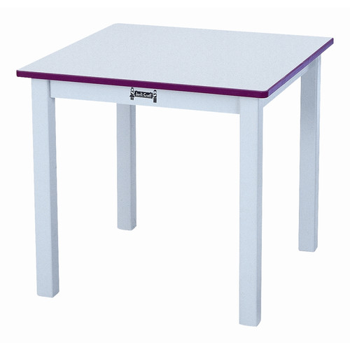 Jonti-craft Square Table -Color:16,Height:Blue