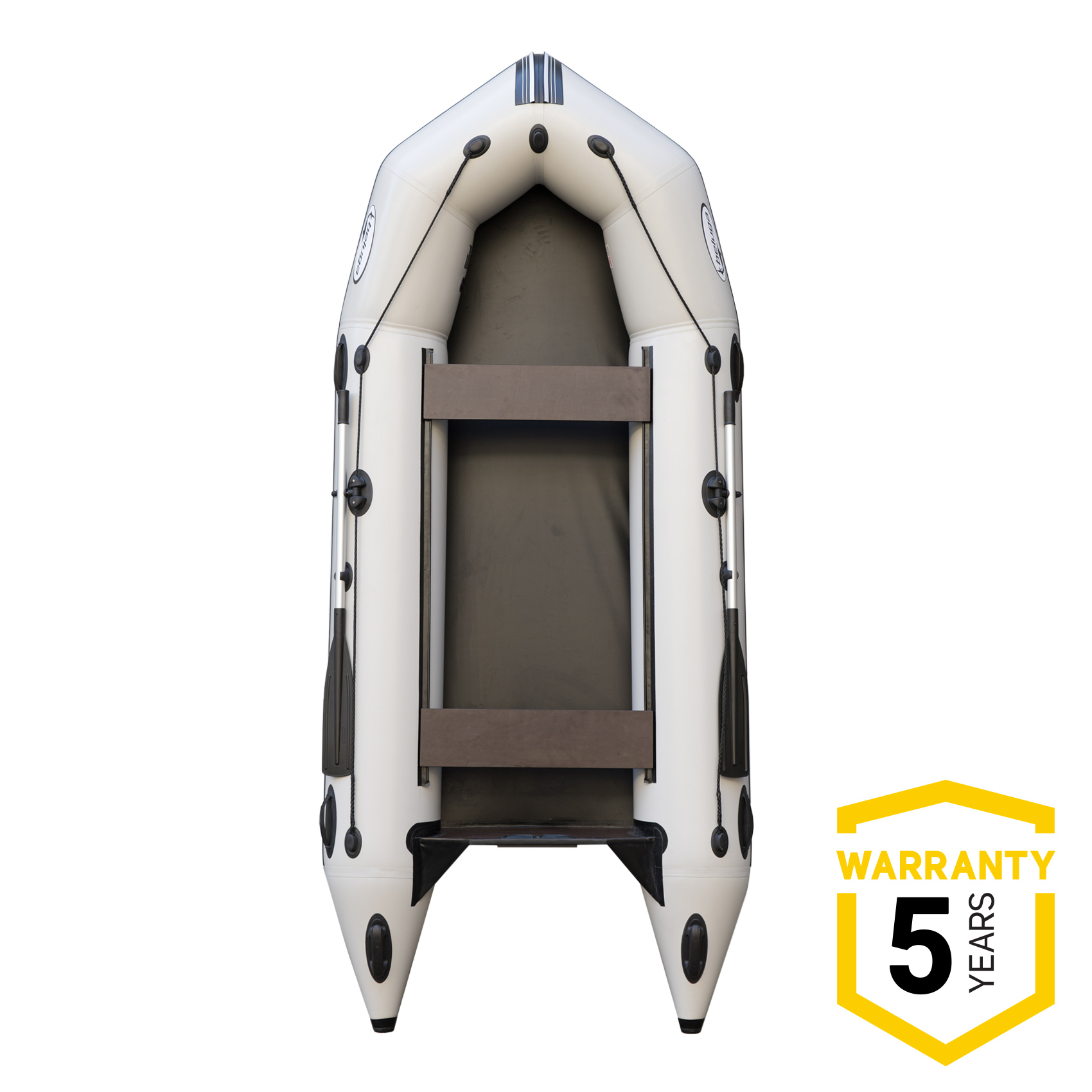 Beluga 12 FT. Light Gray Inflatable Boat C-360FFD