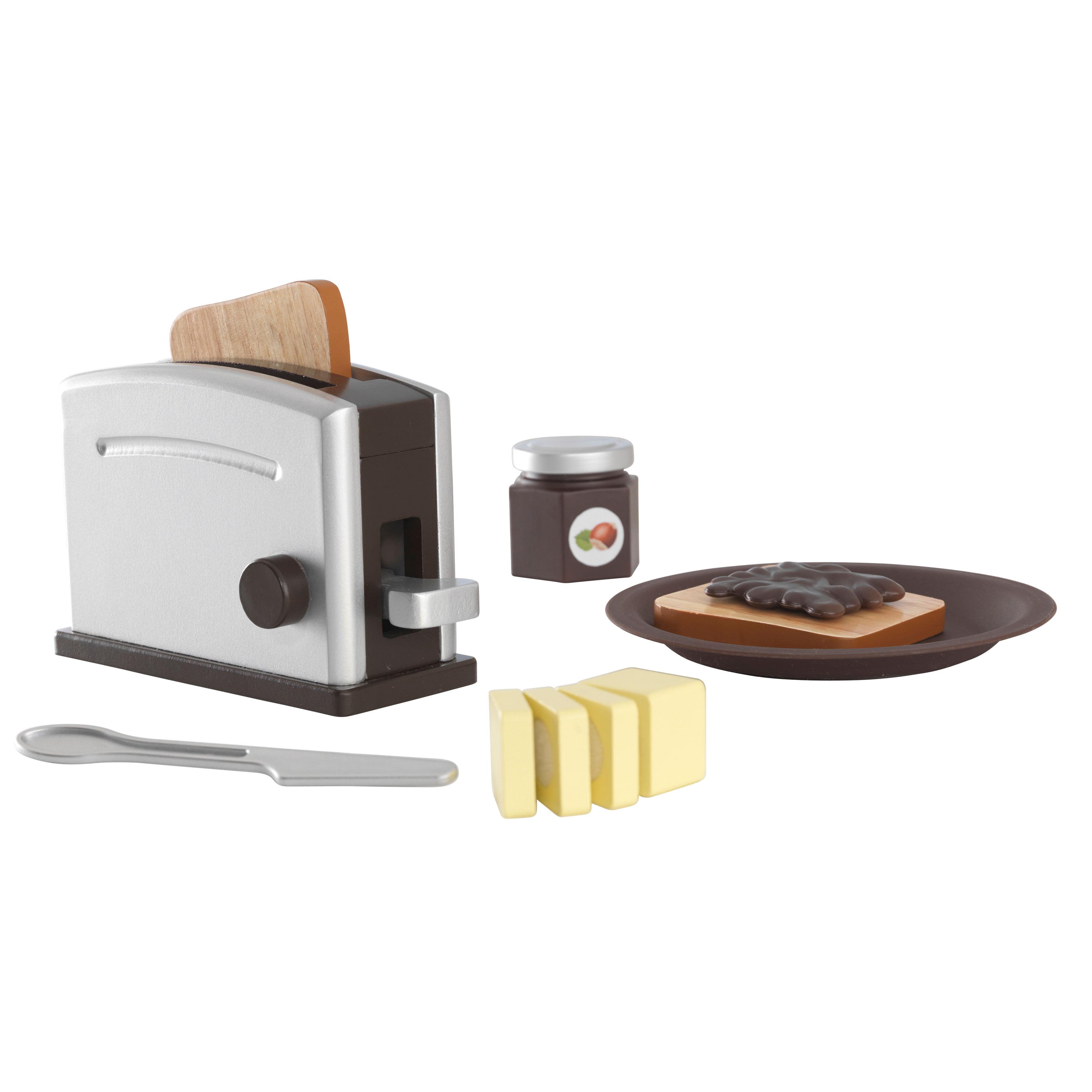 KidKraft Espresso Toaster Set by KidKraft
